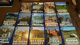 Reader's Digest Discover the World books x 14