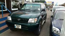 Toyota landcruiser 3.0 diesel auto 7 seater export welcome towbar