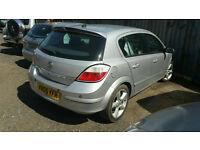 Vauxhall astra 1.7 cdti 2005 reg breaking for parts
