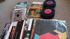 "Vinyl record collection for sale (115 x 1960s & 1970s singles, 12"" and LPs) inc Beatles Love Me Do"