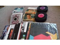 """Vinyl record collection for sale (115 x 1960s & 1970s singles, 12"""" and LPs) inc Beatles Love Me Do"""