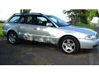 Audi A4 tdi diesel avant estate 2001, mot nov,
