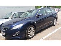 Mazda6 2.2 D TS 165 BHP 2011 5DR ESTATE 11 Plate PARKING SENSOR Dual Air Con 6 CDs MP3 £4650