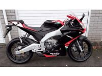 2016 Aprilia RS4 125 - 6 months old - Only 317 miles - Long warranty - Jan 17 price offer!!