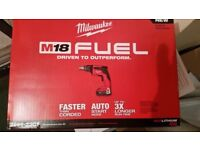 Milwaukee Fuel Drywall Screw Gun 2866-20 New XC M18v Tool Only New in Box 2018