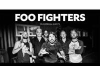 Foo Fighters standing ticket London 22nd June Friday