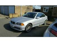 BMW 325ci starts and drives spares or repair