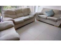 FREE sofas 3 piece suite