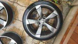 "18"" Audi a3/ vw golf mk5 Rota alloys"