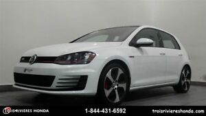 2016 Volkswagen Golf GTI Autobahn GPS mags toit ouvrant
