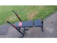York Folding Weight Bench