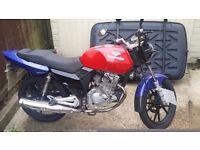 Lexmoto street motorbike 125cc - New MOT