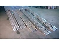 Aluminium Punched decking ramp for recovery trucks / plant / trailer.