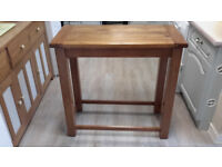 Oak Bar Table