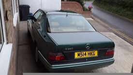 Mercedes E320 Coupe Automatic W124 Series
