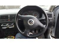golf mk4 gti leather sterring wheel
