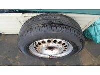 Ford Transit Connect wheel and Brand new tyre 195 65 R15