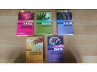 Medical Textbooks - RAPID Series - AS NEW