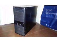 OLD QUAD CORE GAMING PC / AMD BULLDOZER 3.6GHZ / 7GB / 500GB HD / GTX260