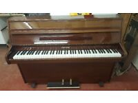Zender upright piano excellent condition in gloss finish free delivery 70 miles