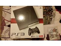 Playstation 3 with 19 games