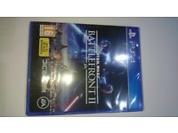 Star Wars Battlefront II PS4 Brand new and sealed disc