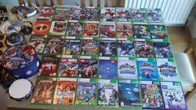 XBOX 360 GAMES & EXTRAS