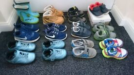 For sale !! Infants footwear range of sizes 4 to 8 excellent condition ask for prices??