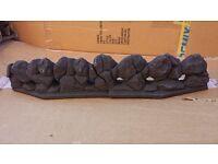 "Two-Piece Front Coal Form For 22"" Legend Vantage Gas Fire"