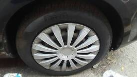 16 inch steel wheels legal tyres with wheelcaps not alloys focus 5 stud