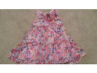 3 dresses -12-18 months - excellent condition - Gap, Petit Bateau, Mayoral Chic