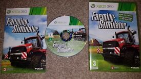 Xbox 360 games Farming Simulator