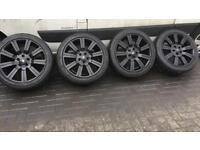 "Range Rover 20"" Alloy Wheels and tyres"