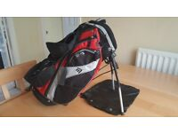 Childrens Small Masters Golf Junior Stand Bag MB-JS110 Stand Carry Strap and Rain Cover