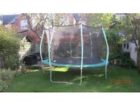 TP Zoomee Trampoline 12ft with enclosure
