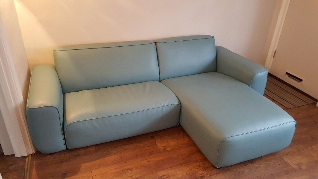 Ikea Duck Egg Blue Sofa