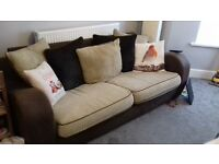sofa seatee chair 3 seater £100