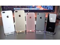 APPLE IPHONE 7 & 7 PLUS - ALL MEMORY SIZES - ALL COLOURS - AND ALL FULLY UNLOCKED