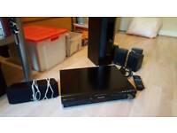 Panasonic dvd player with surround sound