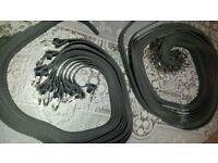 brand new black belts metal buckle i have 2 sizes 94cm 102cm job lot