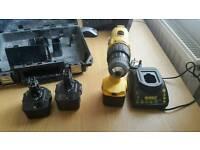 DeWalt Drill Driver with 3 batteries