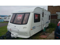 Elddis Firestorm Barrons 534 2004 4 birth touring caravan Site Fees paid until Oct