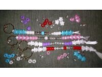 dummy clips & key rings , made to order