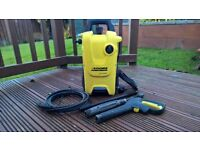 Karcher K4 Compact Pressure Washer - Brand New Motor Fitted By Karcher