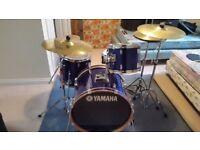 Yamaha Rydeen 4 piece drumkit