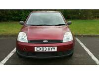 FORD FIESTA DIESEL 1.4L LX 5DOOR ROAD TAX ONLY £30 PER YEAR HPI CLEAR WARRANTED MILES