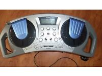 Home Mix Twin CD mixer and cassette player