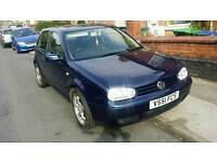 VW GOLF 2.0 GTI MOT&TAX BARGAIN