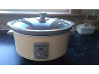 Morohy richards slow cooker £15