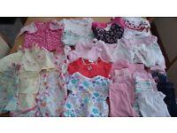 Baby girls summer bundle- 0-3months.